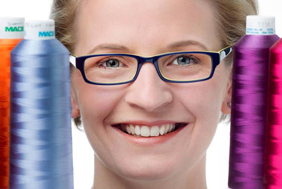 Ariane Ellen Hallerbach, Stickerin aus Neustadt